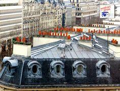 Paris rooftops near Champs Elysees  checkout our Paris Postcard subscription service #champsElysees #parispostcards #paris