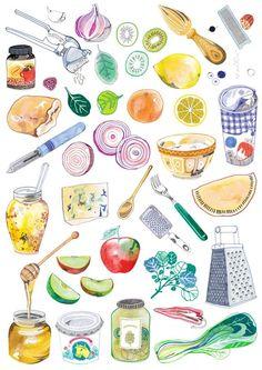 free kitchen clipart - Google Search