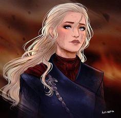 "Game of Thrones - Daenerys Targaryen ""i am very salty"" by Kurizeria Fantasy Inspiration, Character Inspiration, Character Art, Character Design, Character Reference, Dnd Characters, Fantasy Characters, Female Characters, Familia Targaryen"