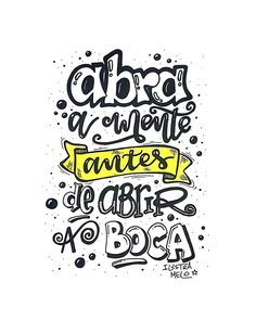 Doodle Lettering, Graffiti Lettering, Lettering Design, Typography, Inspirational Phrases, Motivational Phrases, Letter E, Lettering Tutorial, Simple Words