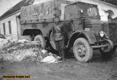 Rába Botond truck. War Dogs, Defence Force, Luftwaffe, Skin So Soft, Hungary, Military Vehicles, Ww2, Antique Cars, Transportation