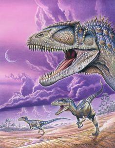 Carcharodontosaurus saharicus by PaleoPastori.deviantart.com on @DeviantArt