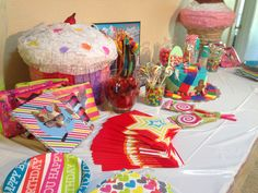 Candy Land table
