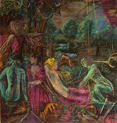 titian painting reinvented Venus of Pardo'' by aminamarei on Etsy