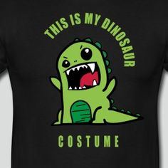 dinosaurier dino kostüm fasching karneval fun humo - Männer T-Shirt