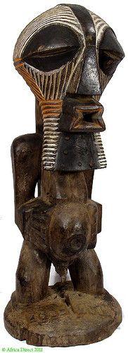 Songye Masked Figure Nkishi DR Congo Africa