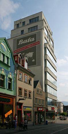 Bata store Liberec - Vladimír Karfík 1932
