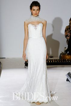 Brides.com: . For those lovely ladies who are true romantics at heart, Alvina Valenta is the wedding dress designer for you. Ethereal glamour, soft femininity, and modern romanticism have been meeting in holy matrimony in Alvina Valenta's collections throughout the past several bridal fashion week seasons, and the latest line from the New York City-based label evokes that same sense of lovely luxury and the magical kind of feeling that gets a gal excitedly hurrying down the aisle to say her…