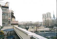 Paris holiday apartment with terrace and view of Notre Dame!