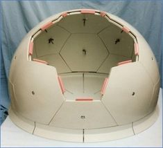 Initial Rapid-Prototyping Scaled model of a modular Dome