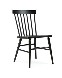 The Hugh Chair is an all wood chair with a simple, Windsor style design. This chair is a smart choice for restaurants looking to modernize their wood chairs, but still maintain a classic feel.