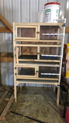 In this video I show how I build my 3 tier stacked quail cages. Each cage is 6 square feet in size and can comfortably house up to 18 quail. Big Bird Cage, Quail Coop, Raising Farm Animals, Poultry House, Diy Bird Feeder, Diy Chicken Coop, Game Birds, Hobby Farms, Coops