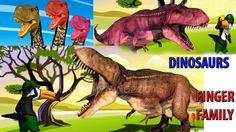 Dinosarus Finger Family Rhyme | Children Nursery Rhymes | Kids online ne...