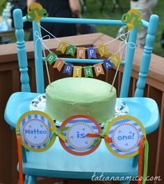 First Birthday Party Sugar Free Vegan (Gluten Free Option) Cake #firstbirthday #partydecorations #healthycake