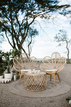 Glam Tropical Luxe Wedding Inspiration in Byron Bay with a colour palette of white, antique gold and green. The bridesmaid wears gold sequins by Spell Byron Bay. Outdoor Chairs, Outdoor Furniture Sets, Outdoor Decor, Rustic Furniture, Rattan Garden Furniture, Byron Bay Weddings, Luxe Wedding, Tropical Decor, Style Tropical