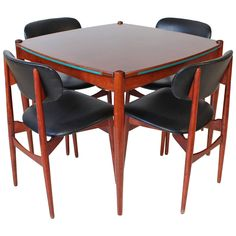 Italian Mid Century Modern Game Table By Gio Ponti
