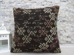 kilim pillow 16x16 handmade kilim pillow decorative pillow sofa pillow 16x16 tribal pillow throw pillow turkish pillow boho pillow