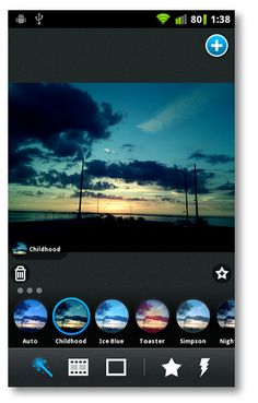 Cool filters, effects, and frames without the emphasis on sharing them with everyone you know is what you'll find in Pix: Pixel Maker for Android.