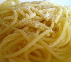 Spaghetti with Garlic and Oil Recipe
