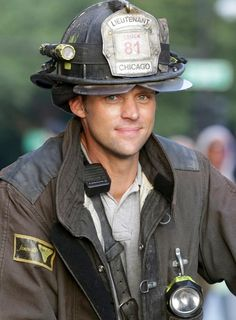 Chicago Fire: A smiling Lt. Casey (a.k.a. Jesse Spencer) | Shared by LION