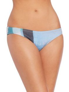 CLOVER CANYON Striped Eclipse Bikini Bottom. #clovercanyon #cloth #bottom