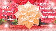 DIY flores hermosas de fondant- beautiful flowers fondant