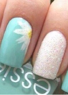 Cute spring nails ❤️