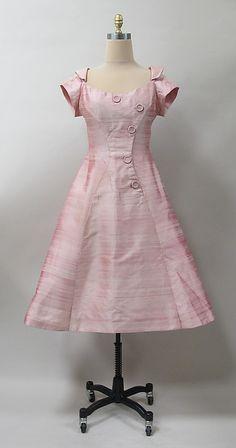 Cocktail dress, Charles James, 1957