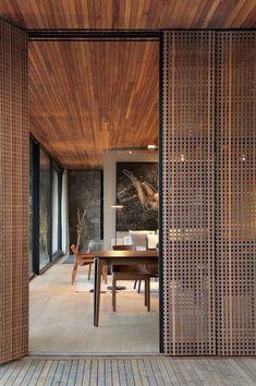Interior Exterior, Interior Architecture, Interior Design, Home Room Design, House Design, Modern Gazebo, Contemporary Cabin, Southern Homes, Tropical Houses