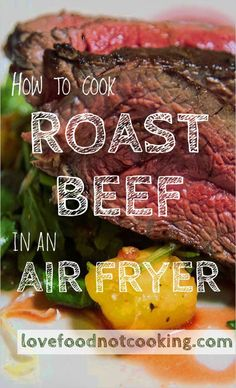 Perfect air fryer roast beef - cook classic roast beef in an air fryer. This simple recipe uses herbs, salt and olive oil, for a tender, flavorsome roast. Air Fryer Recipes Beef, Air Frier Recipes, Air Fryer Dinner Recipes, Roast Beef Recipes, Pork Roast, Chicken Recipes, Nuwave Air Fryer, Air Fryer Deals, Cooking Roast Beef