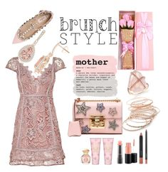 """""""#brunchstyle"""" by joicesanthos ❤ liked on Polyvore featuring MAC Cosmetics, Tory Burch, Valentino, Gucci and Red Camel"""