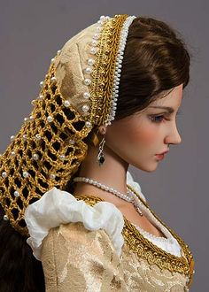 Gorgeous doll costuming