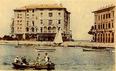 Old postcards of #Porec in #Croatia   Can you recognize the old city? :-)