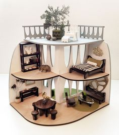 laser file templates doll house - Google Search
