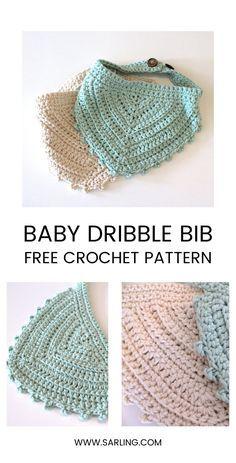 Crochet Baby Bibs, Crochet Baby Booties, Free Crochet, Crochet Hats, Kids Crochet, Crochet Food, Newborn Crochet, Crochet Animals, Hipster Kind