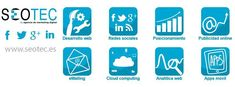 Marketing Digital y Gestión personalizada de servicios digitales como Aplicaciones en la Nube o SmartPhones. Realizamos campañas de Posicionamiento Web en Buscadores, Gestión y administración de Redes Sociales, Promoción a través de Publicidad Online, creación de campañas de eMailing (Marketing Directo) y seguimiento y mejora del negocio a través de Analítica Web profesional. Estamos especializados en el Desarrollo y Diseño de Páginas Web de calidad a precios económicos. Estamos en