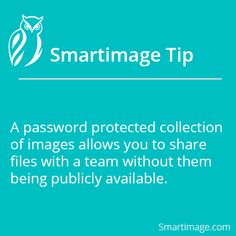 Take advantage of password protection #Smartimage