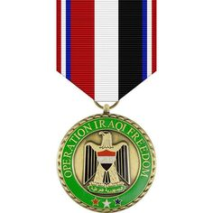 USA Military Medals is now happy of offer the Operation Iraqi Freedom Commemorative Medal! Show your Service Pride with this military award. Iraqi Military, Military Police, Military Medals And Ribbons, Army Decor, Military Awards, Service Medals, Military Orders, Military Insignia, Modern Warfare