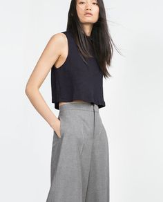 Image 1 of CROPPED TOP from Zara