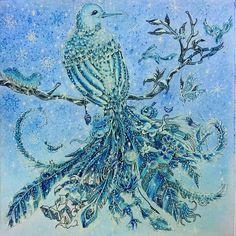 Ледяная птица.Опять меня потянуло на зимнюю тему) #аниморфозы #аниморфия #раскраска #раскраскаантистресс #раскраскадлявзрослых #рисунок #рисуюкакхочу #рисуюкакумею #рисуюкакмогу #рисуюкарандашом #дудлинг #doodling #кербирозанес #кохинор #coloring #coloringbook #coloringbooks #coloringpencils #colorindolivrostop #coloringpencil #kohinoor #kerbyrosanes #kerbyrosanesanimorphia #animorphia #johanabasford #johannabasford #fabercastell #фаберкастелл #дудл