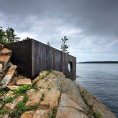userdeck: Stunning wooden cabin.