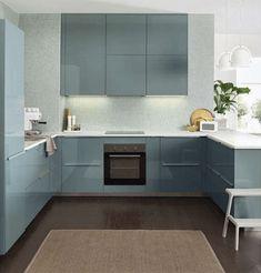 Ikea Kallarp Kitchen Turquoise