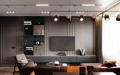 Добавьте свой отзыв о проекте пользователя Volodymyr Dymchenko, Modern Tv Unit Designs, Modern Tv Units, Latest Tv Unit Designs, Living Tv, Living Room Tv Unit, Modern Living, Home Room Design, Home Interior Design, Living Room Designs