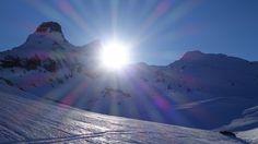 Atardecer sobre la Campana d'Anéou (2214 metros), Gralleras (2262 metros) y Cuyalaret (2286 metros)