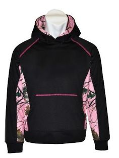 Pink Camo Hoodies for Women. She hunts, she fishes, and she wears pink…