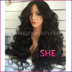 Find More Synthetic Wigs Information about Lace Front Synthetic Wigs black wavy cheap heat resistant fiber african american snythetic lace front wig for black women,High Quality Synthetic Wigs from SHE Lady House on Aliexpress.com