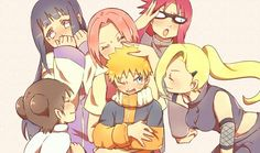 I love this all teen naruto girls fussing over how adorable 12 year old naruto is - Caitlin