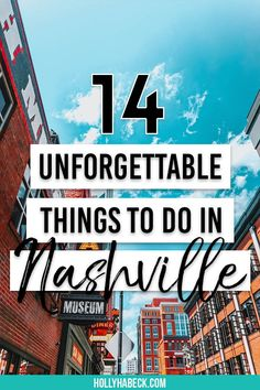 14 Unforgettable Things to Do in Nashville TN This Weekend Ready for an epic country getaway in the big city? Check out these 14 unforgettable things to do in Nashville TN this weekend! Nashville Things To Do, Weekend In Nashville, Nashville Vacation, Visit Nashville, Tennessee Vacation, Shopping In Nashville, Best Restaurants In Nashville, Nashville Must Do, Girls Trip Nashville