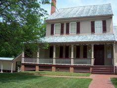 Sully Plantation (built 1799 in Fairfax County VA by Richard Bland Lee, a Congressman & member of the pre-eminent Lee family) - family's home (Chantilly, VA