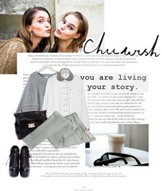 """""""The secret of getting ahead is getting started."""" by milkandabsinth ❤ liked on Polyvore"""